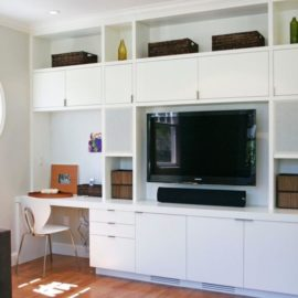 excellent-wall-unit-with-desk-and-tv-desk-and-tv-cabinet-combo-white-wooden-cabinet-with-drawer-and-shelves-tv-picture-basket-white-wall-chair-wooden-floor