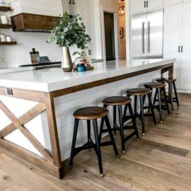 Smi Modern Farmhouse Kitchen And Dining Nook – Sita Montgomery within Farmhouse Kitchen